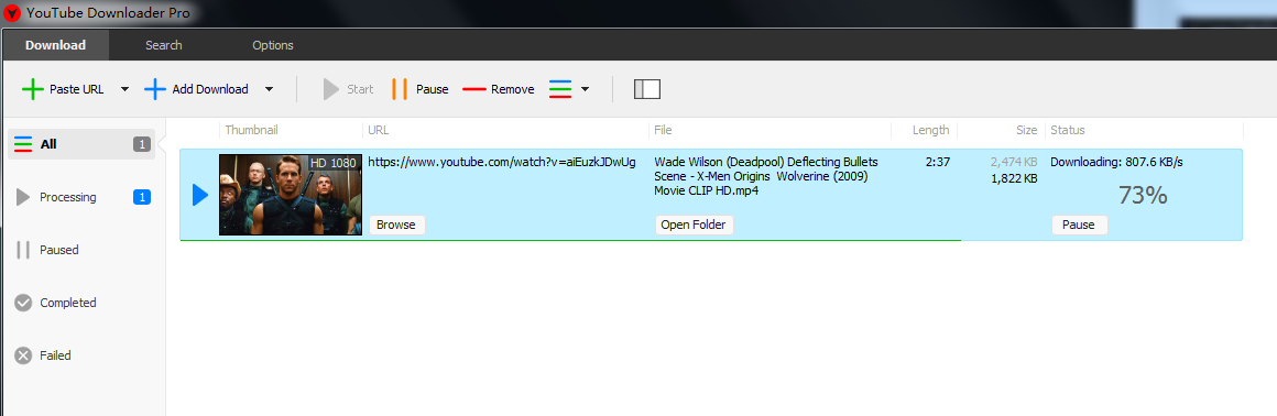 YouTube Downloader Pro v7.57无限试用补丁-AB下载